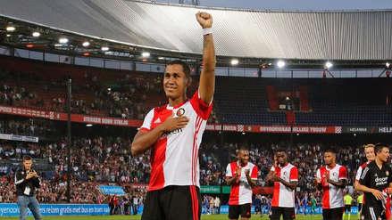 ¡Como los grandes! Renato Tapia recibió gran ovación de la hinchada del Feyenoord
