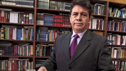 Poder Judicial dictó impedimento de salida del país al fiscal supremo Tomás Gálvez