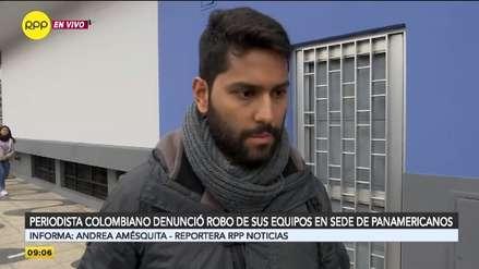 Equipos robados a periodista colombiano contenían un reportaje sobre la pasión del surf en el Perú
