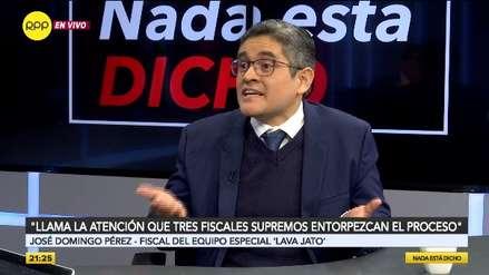 Domingo Pérez: Si la Corte concede la casación a Keiko Fujimori algunos testigos del caso podrían retractarse