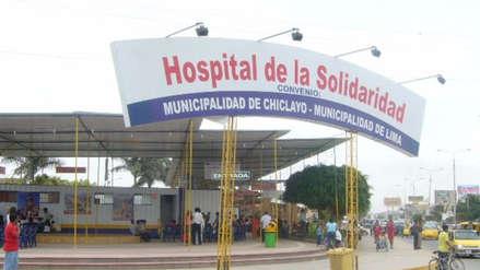 Juzgado de Chiclayo demanda a alcalde de Lima desalojar Hospital de la Solidaridad