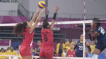 14 imágenes del vibrante partido entre Perú y Colombia de voleibol femenino por los Juegos Panamericanos