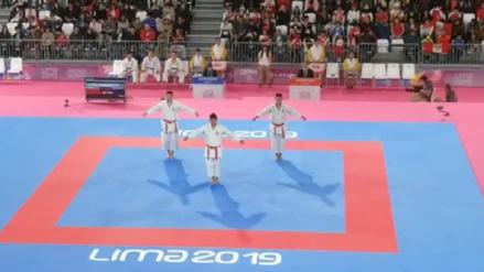 ¡Gigantes! Así fue la presentación de los peruanos que ganaron la medalla de oro en Karate en los Juegos Panamericanos