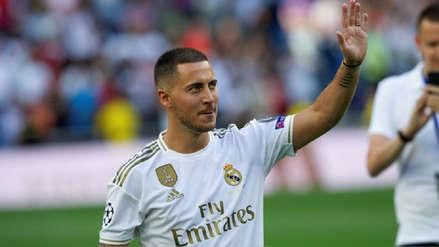 La buena noticia que recibió Eden Hazard del Real Madrid a una semana del inicio de la Liga Santander