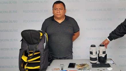 Policía recupera en Lima el equipo que le robaron a un periodista en Brasil durante la Copa América
