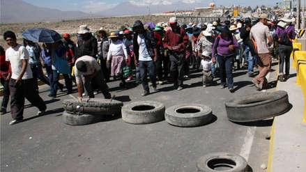 Valle de Tambo continuará paralización: