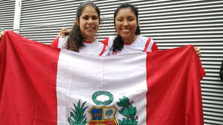 ¡La primera medalla del día! Perú ganó medalla de bronce en frontenis dobles femenino de los Juegos Panamericanos