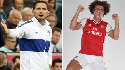 ¿Problemas? Frank Lampard se refirió a la salida de David Luiz y comentó acerca del día que no entrenó