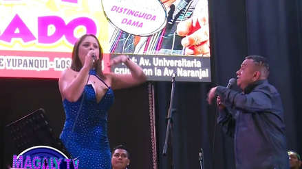 Tony Rosado: Cindy Marino abandonó show luego de discutir con el cantante por comentarios machistas