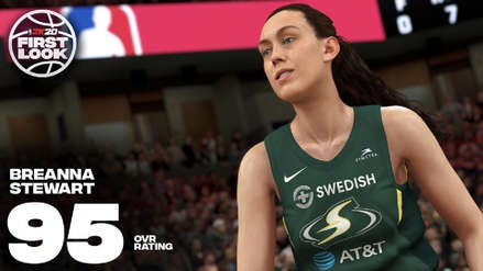 ¡Histórico! NBA 2K20 incluirá baloncesto femenino [VIDEO]