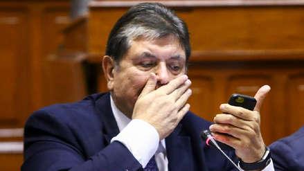 Poder Judicial desestimó pedido de José Domingo Pérez para incautar celulares de Alan García