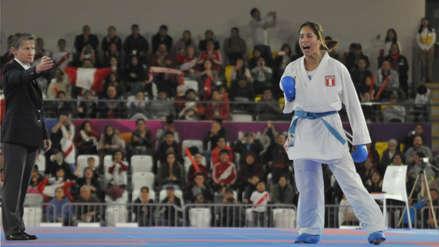 Lima 2019: Alexandra Grande y el detalle patriota que la acompañó en la final de karate en los Panamericanos
