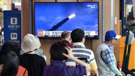 Corea del Norte volvió a disparar dos proyectiles hacia el Mar de Japón