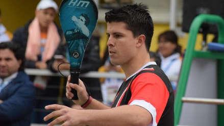¡Gigante! Kevin Martínez obtuvo la medalla de oro en Paleta Frontón Individual Masculino en Lima 2019