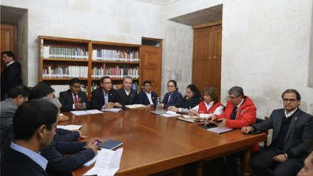 La transcripción del audio de la reunión entre Martín Vizcarra y las autoridades arequipeñas