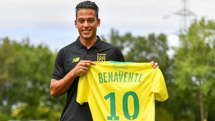 ¡En francés! El saludo de Cristian Benavente a los hinchas del Nantes tras concretar su llegada