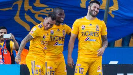 Tigres derrotó 3-1 a Necaxa con hat-trick de Andre Pierre Gignac en el Torneo Apertura de la Liga MX