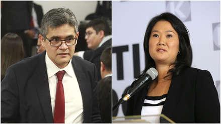 José Domingo Pérez espera presentar la acusación contra Keiko Fujimori este año