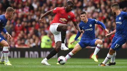 ¡Atención Real Madrid! Paul Pogba dio dos magistrales asistencias en la goleada de Manchester United ante Chelsea