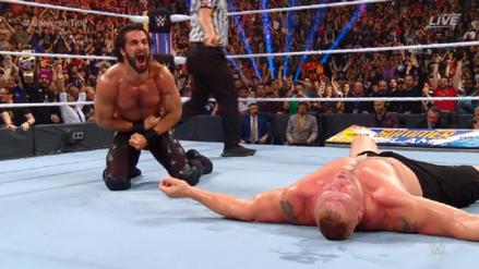 Dominó a la bestia: Seth Rollins derrotó a Brock Lesnar y recuperó el campeonato universal de WWE