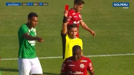 ¡Solo duró 33 minutos! Christian Ramos fue expulsado en su debut con Universitario ante Los Caimanes