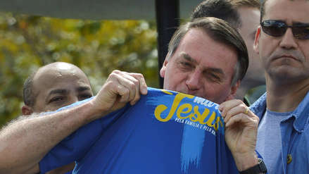 Jair Bolsonaro acudió a marcha de evangélicos e insistió: