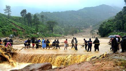 Lluvias torrenciales en India dejan 150 muertos y cientos de miles de evacuados