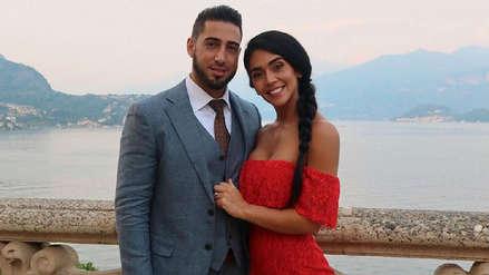 Vania Bludau sobre su boda con Frank Dello Russo: