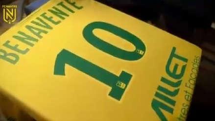 Nantes dedicó video a Cristian Benavente en su presentación oficial