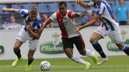 Renato Tapia integra la oncena ideal de la segunda fecha de la Eredivisie