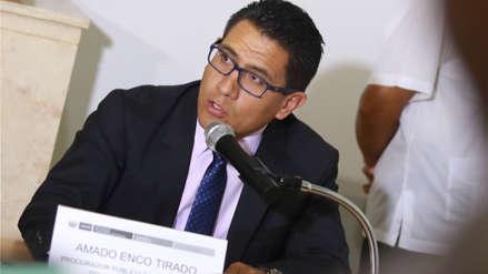 Amado Enco asegura que denuncia contra Jorge Ramírez no incluye a fiscales del Equipo Especial