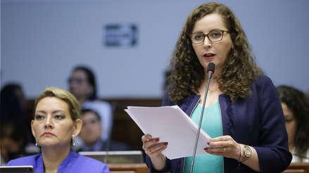 Rosa Bartra se pronunció tras ser reelecta presidenta de la Comisión de Constitución