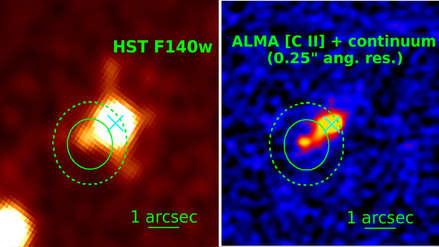 Observatorio Chandra revela lo que podría ser el cuásar oculto más distante detectado hasta ahora