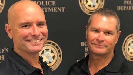 """""""Fue como encontrar a mi clon"""": Policías de 51 y 49 años descubrieron súbitamente que son hermanos"""