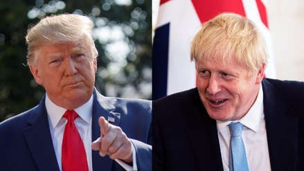 "Donald Trump quiere reunirse ""en un futuro cercano"" con Boris Johnson"