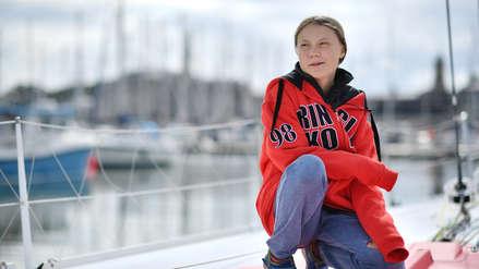 Para no dañar el medio ambiente, la activista Greta Thunberg cruzará el Atlántico en velero [FOTOS]
