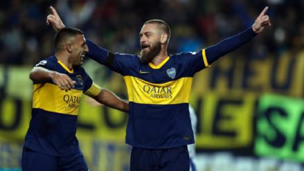 ¡Fenomenal! Danielle De Rossi debutó con gol en Boca Juniors ante Almagro
