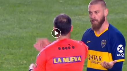 ¡Brutal! La primera amarilla para Danielle De Rossi con Boca Juniors luego esta terrible entrada