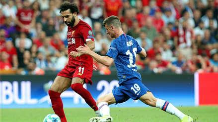 ¡Falló un disparo! Chelsea cayó 5-4 ante Liverpool en la definición por penales de la Supercopa de Europa