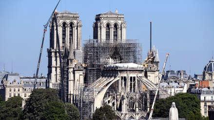 Catedral de Notre Dame de París en riesgo de colapsar tras fuerte ola de calor en Europa