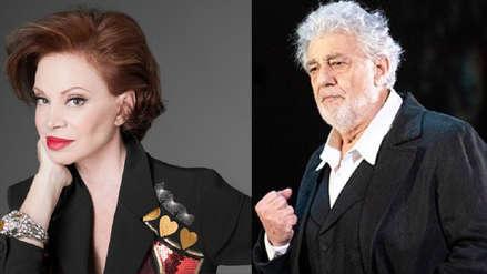 Paloma San Basilio defiende a Plácido Domingo:
