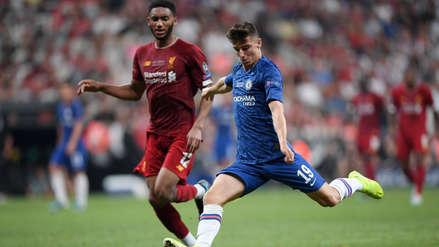 ¡Posición adelantada! El gol que le anularon a Mason Mount en el partido entre Liverpool y Chelsea