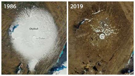 El último adiós al primer glaciar declarado muerto en Islandia