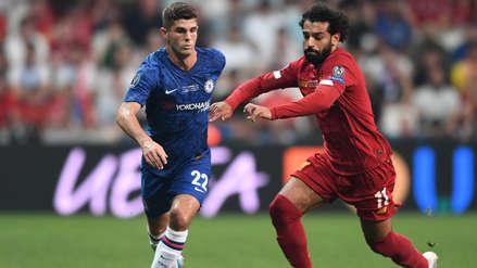 ¡Estaba adelantado! El gol anulado de Christian Pulisic en el partido entre Liverpool y Chelsea