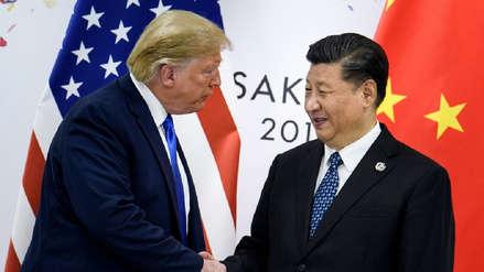Trump sugiere a Xi Jinping una reunión para hablar de Hong Kong