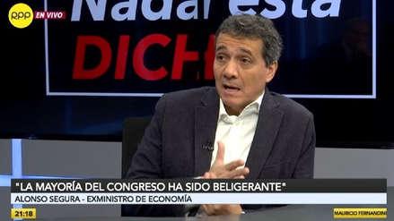 Alonso Segura sobre suspensión de Tía María: El primer responsable es la empresa minera Southern