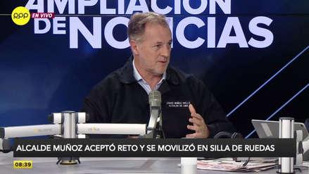 Jorge Muñoz destacó mejoras en el tránsito con el plan vehicular de Pico y Placa