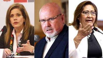 Mercedes Aráoz, Carlos Bruce y Ana María Choquehuanca renuncian a la bancada de Peruanos por el Kambio
