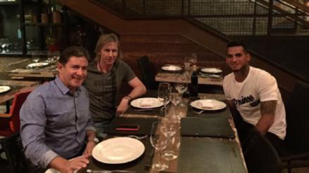 Selección Peruana: Ricardo Gareca visitó a Miguel Trauco en la ciudad de Saint Etienne