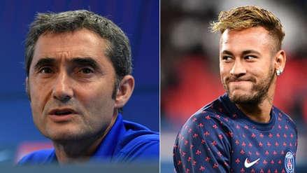 ¿Llega a Barcelona? Ernesto Valverde habló sobre el posible fichaje de Neymar